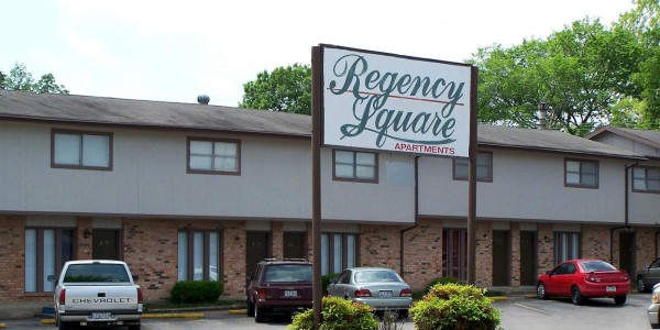 regency apartments front